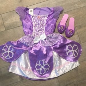 Disney Sophia the First Dress with Shoes